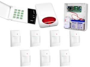 Alarm SATEL CA-6 LED, 7 X AQUA PLUS, SYG. ZEW. SPL-5010